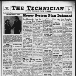 Technician, Vol. 30 No. 22, March 31, 1950