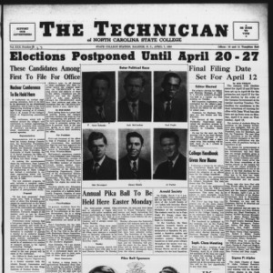 Technician, Vol. 30 No. 23, April 7, 1950