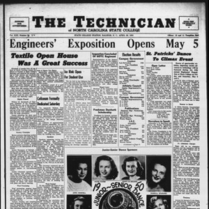 Technician, Vol. 30 No. 26, April 28, 1950