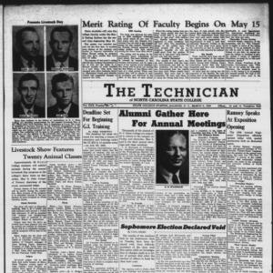 Technician, Vol. 30 No. 27, May 5, 1950