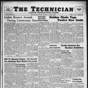 Technician, Vol. 30 No. 29, May 19, 1950