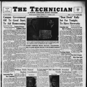 Technician, Vol. 30 No. 4, October 14, 1949
