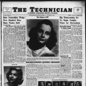 Technician, Vol. 30 No. 5, October 21, 1949