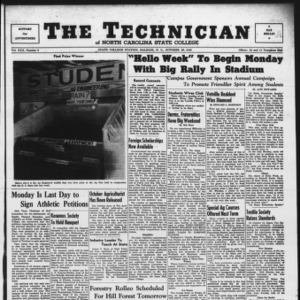 Technician, Vol. 30 No. 6, October 28, 1949