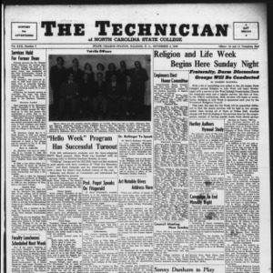 Technician, Vol. 30 No. 7, November 4, 1949