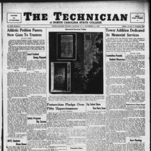 Technician, Vol. 30 No. 8, November 11, 1949