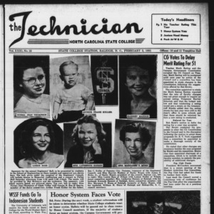 Technician, Vol. 31 No. 15, February 2, 1951