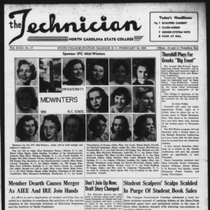 Technician, Vol. 31 No. 17, February 16, 1951
