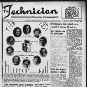 Technician, Vol. 31 No. 22, March 30, 1951