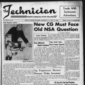 Technician, Vol. 31 No. 28, May 11, 1951
