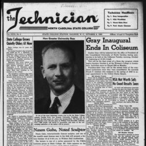 Technician, Vol. 31 No. 3, October 6, 1950