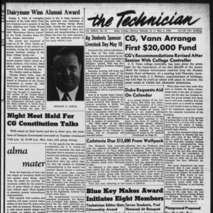 Technician, Vol. 32 No. 27, May 9, 1952