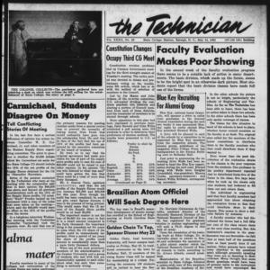 Technician, Vol. 32 No. 28, May 16, 1952