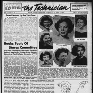Technician, Vol. 33 No. 15, February 6, 1953