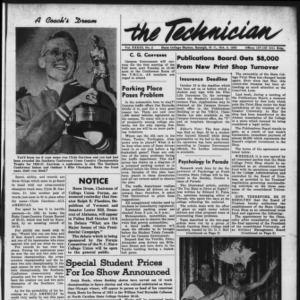 Technician, Vol. 33 No. 2, October 3, 1952