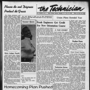Technician, Vol. 33 No. 3, October 10, 1952