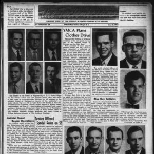 Technician, Vol. 38 No. 30 [Vol. 34 No. 30], May 21, 1954