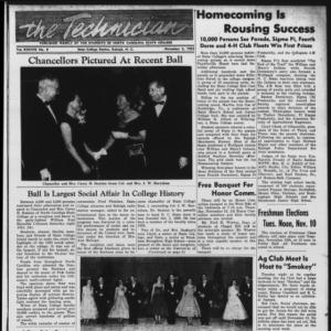 Technician, Vol. 38 No. 8 [Vol. 34 No. 8], November 6, 1953