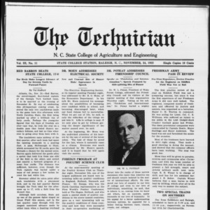 Technician, Vol. 3 No. 11, November 24, 1922