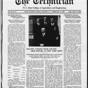 Technician, Vol. 3 No. 21, February 16, 1923