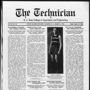 Technician, Vol. 3 No. 23, March 2, 1923