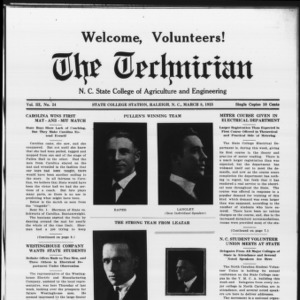 Technician, Vol. 3 No. 24, March 8, 1923