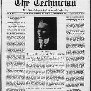 Technician, Vol. 3 No. 3, September 29, 1922
