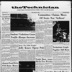 Technician, Vol. 46 No. 43 [Vol. 47 No. 43], February 24, 1967