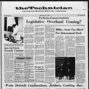 Technician, Vol. 47 No. 41 [Vol. 48 No. 41], February 14, 1968