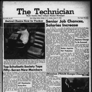 Technician, Vol. 47 No. 57 [Vol. 43 No. 56], March 11, 1963