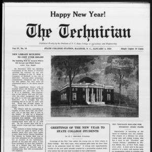 Technician, Vol. 4 No. 16, January 4, 1924
