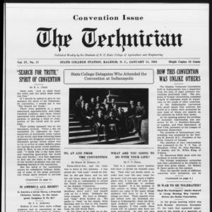 Technician, Vol. 4 No. 17, January 11, 1924