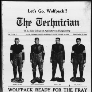 Technician, Vol. 4 No. 3, September 28, 1923
