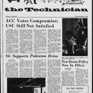 Technician, Vol. 51 No. 42, December 11, 1970