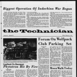 Technician, Vol. 51 No. 55, February 5, 1971