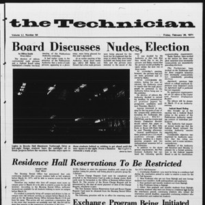 Technician, Vol. 51 No. 64, February 26, 1971