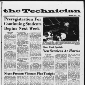 Technician, Vol. 51 No. 75, April 7, 1971