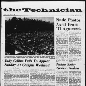 Technician, Vol. 51 No. 79, April 19, 1971