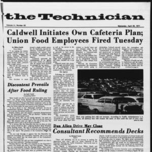 Technician, Vol. 51 No. 83, April 28, 1971