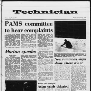 Technician, Vol. 52 No. 40, December 6, 1971