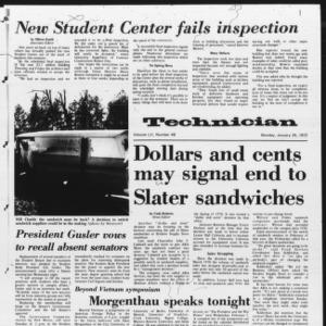 Technician, Vol. 52 No. 48, January 24, 1972