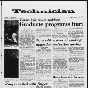 Technician, Vol. 52 No. 6, September 10, 1971