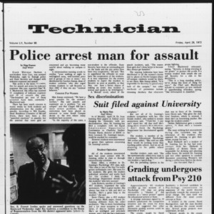 Technician, Vol. 52 No. 86, April 28, 1972