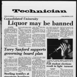 Technician, Vol. 52 No. 9, September 17, 1971