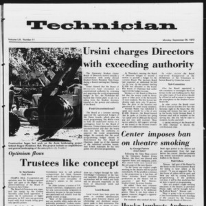 Technician, Vol. 53 No. 11, September 25, 1972