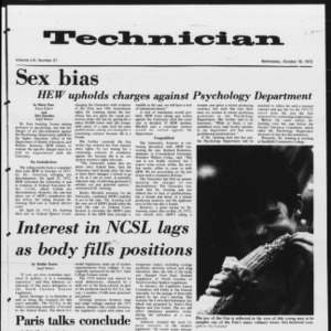 Technician, Vol. 53 No. 21, October 18, 1972