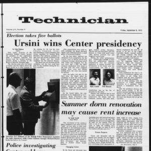 Technician, Vol. 53 No. 4, September 8, 1972