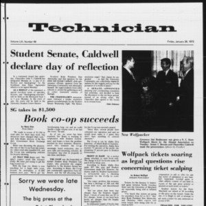 Technician, Vol. 53 No. 48, January 26, 1973
