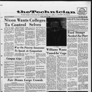 Technician, Vol. 53 No. 62 [Vol. 49 No. 62], March 24, 1969