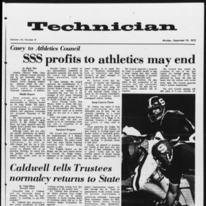 Technician, Vol. 53 No. 8, September 18, 1972
